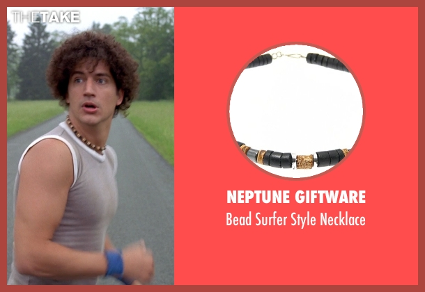 Neptune Giftware black necklace from Wet Hot American Summer seen with Ken Marino (Victor Kulak)