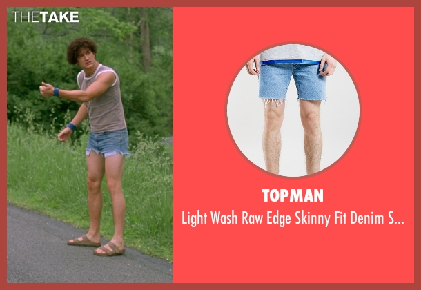 Topman blue shorts from Wet Hot American Summer seen with Ken Marino (Victor Kulak)