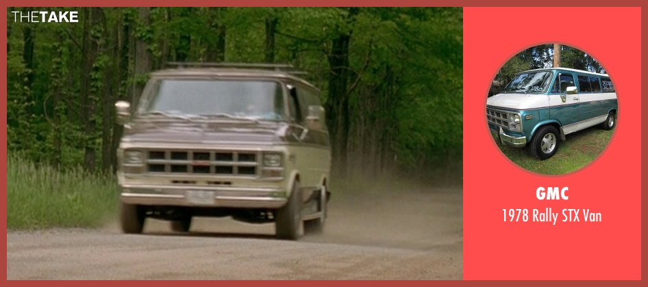 GMC van from Wet Hot American Summer seen with Ken Marino (Victor Kulak)