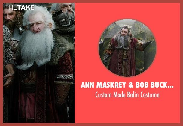 Ann Maskrey & Bob Buck (Costume Designer) costume from The Hobbit: The Battle of The Five Armies seen with Ken Stott (Balin)