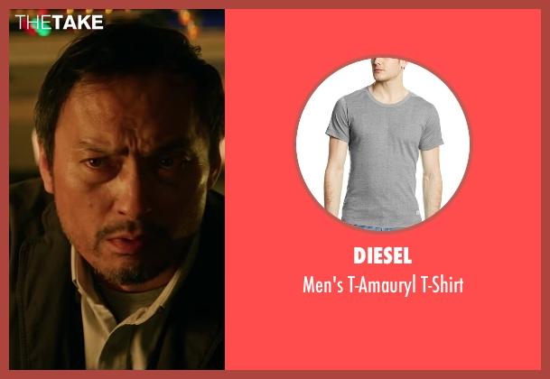 Diesel gray t-shirt from Godzilla seen with Ken Watanabe (Ichiro Serizawa)