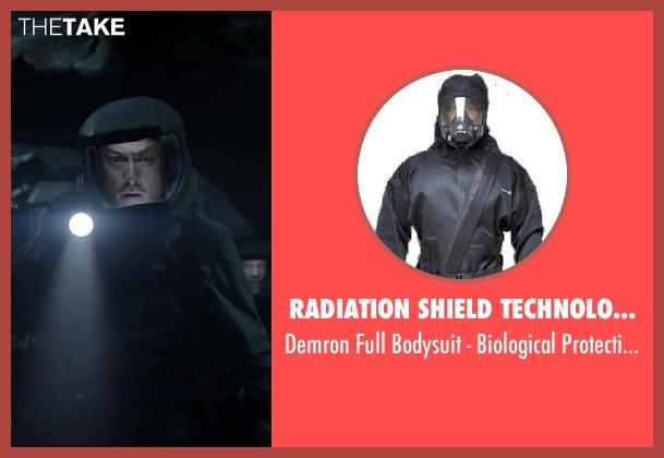 Radiation Shield Technologies suit from Godzilla seen with Ken Watanabe (Ichiro Serizawa)