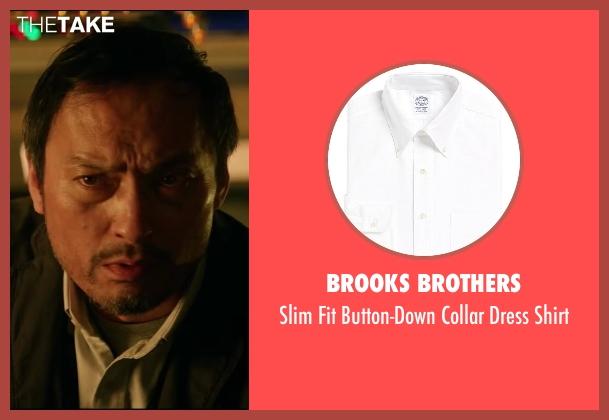 Brooks Brothers white shirt from Godzilla seen with Ken Watanabe (Ichiro Serizawa)