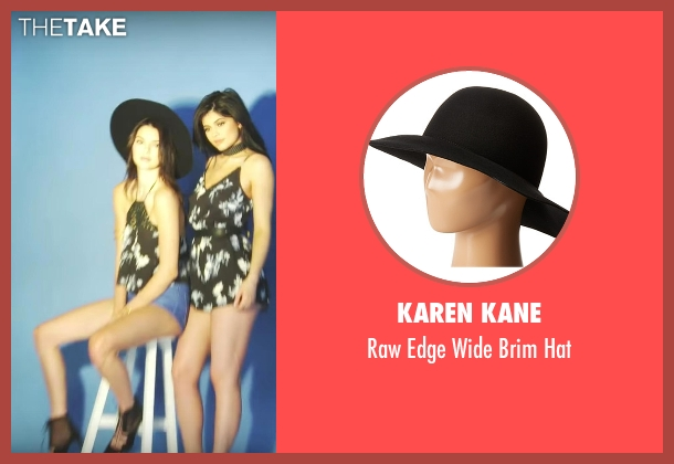 Karen Kane black hat from Keeping Up With The Kardashians seen with Kendall Jenner