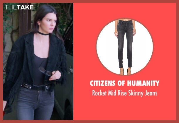 Citizens Of Humanity black jeans from Keeping Up With The Kardashians seen with Kendall Jenner