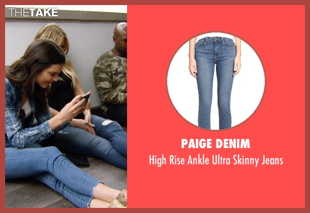 Paige Denim  blue jeans from Keeping Up With The Kardashians seen with Kendall Jenner