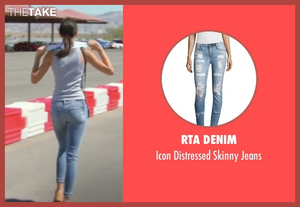 RtA Denim blue jeans from Keeping Up With The Kardashians seen with Kendall Jenner