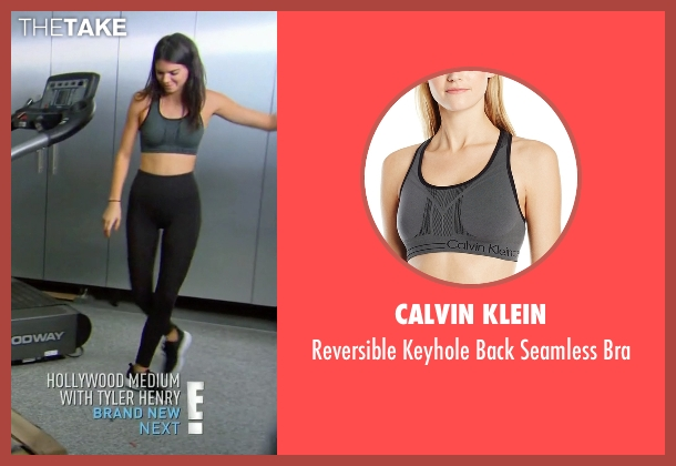 Calvin Klein gray bra from Keeping Up With The Kardashians seen with Kendall Jenner
