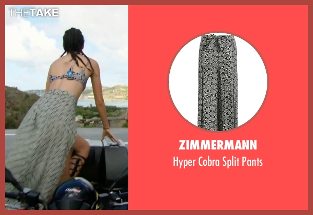 Zimmermann gray pants from Keeping Up With The Kardashians seen with Kendall Jenner