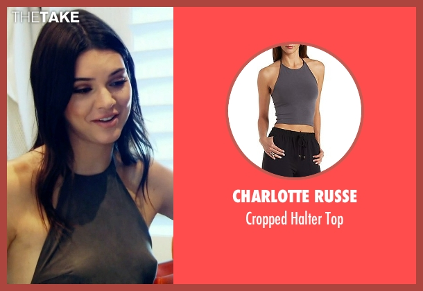 Charlotte Russe gray top from Keeping Up With The Kardashians seen with Kendall Jenner