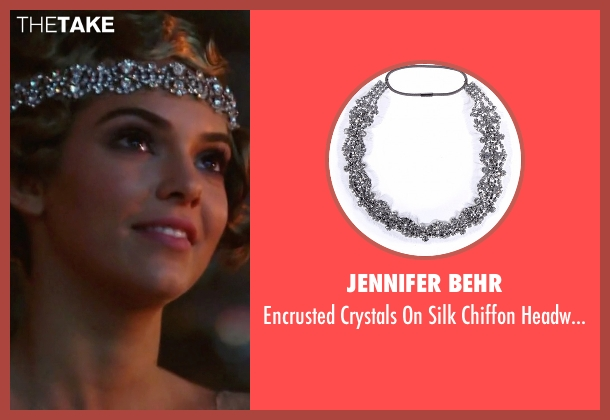 Jennifer Behr silver headwrap from Keeping Up With The Kardashians seen with Kendall Jenner