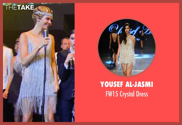 Yousef Al-Jasmi white dress from Keeping Up With The Kardashians seen with Kendall Jenner