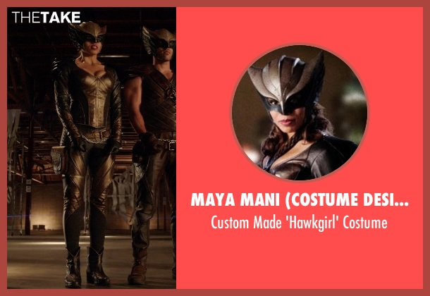 Maya Mani (Costume Designer) costume from Arrow seen with Kendra Saunders / Hawkgirl (Ciara Renée)