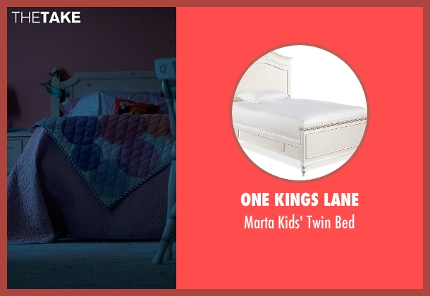 One Kings Lane bed from Poltergeist seen with Kennedi Clements (Madison Bowen)