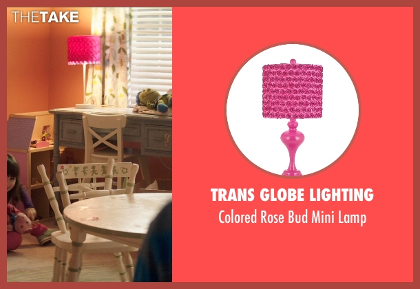 Trans Globe Lighting lamp from Poltergeist seen with Kennedi Clements (Madison Bowen)
