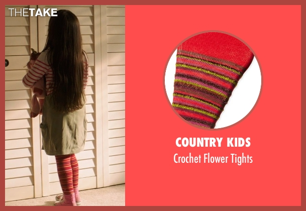 Country Kids red tights from Poltergeist seen with Kennedi Clements (Madison Bowen)