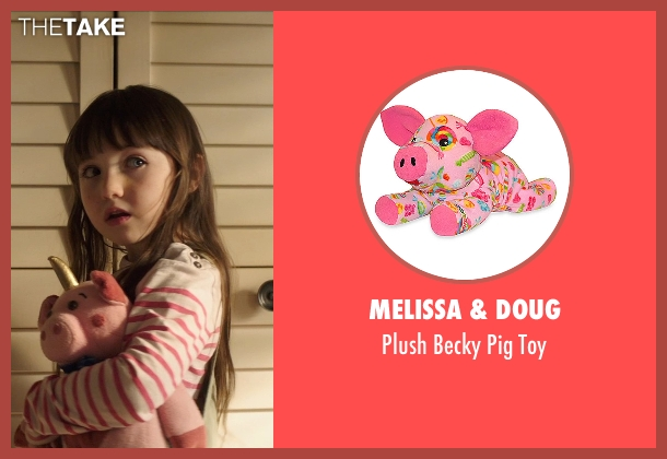 Melissa & Doug toy from Poltergeist seen with Kennedi Clements (Madison Bowen)