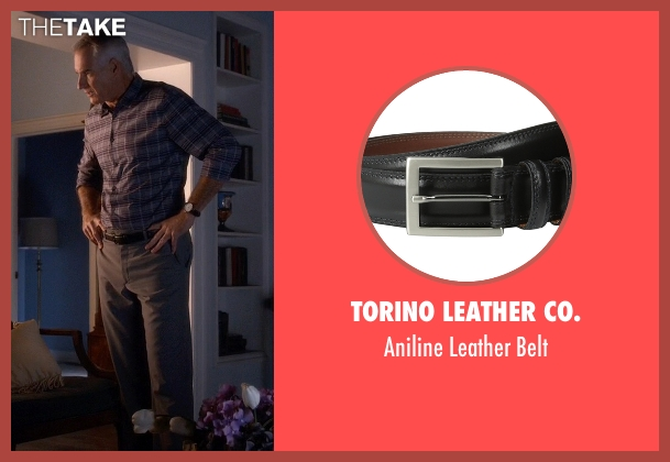 Torino Leather Co. black belt from Pretty Little Liars seen with Kenneth DiLaurentis (Jim Abele)