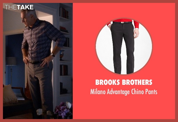 Brooks Brothers gray pants from Pretty Little Liars seen with Kenneth DiLaurentis (Jim Abele)