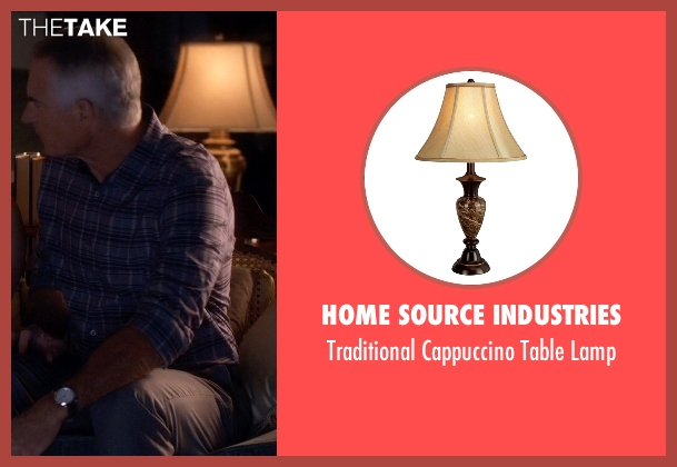 Home Source Industries lamp from Pretty Little Liars seen with Kenneth DiLaurentis (Jim Abele)