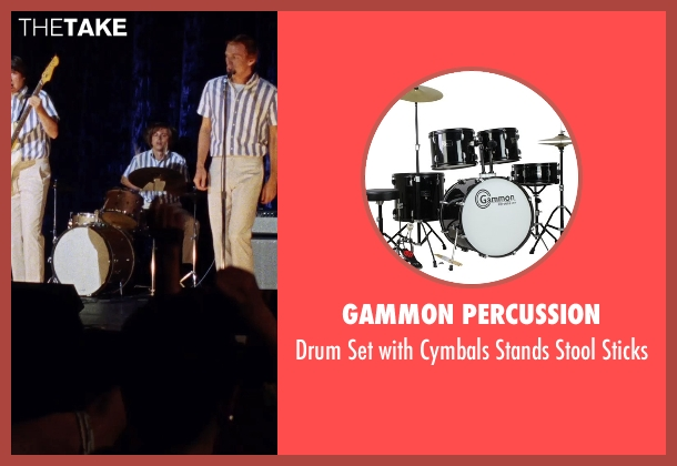 Gammon Percussion sticks from Love & Mercy seen with Kenny Wormald (Dennis Wilson)