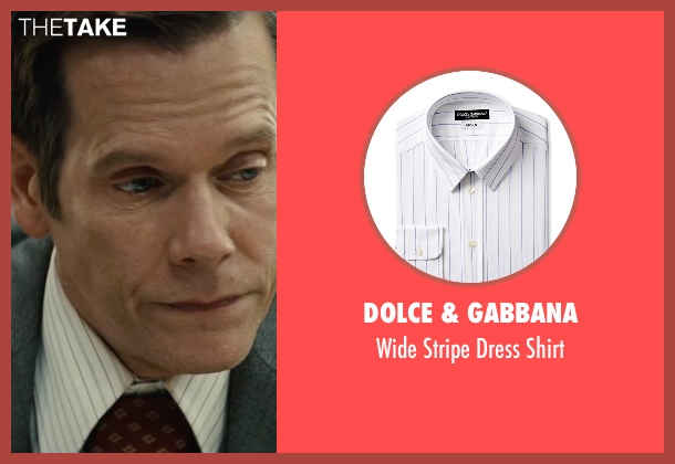 Dolce & Gabbana white shirt from Black Mass seen with Kevin Bacon (Charles McGuire)
