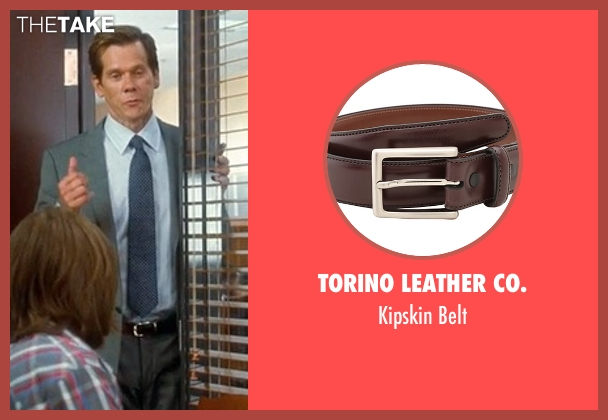 Torino Leather Co. brown belt from Crazy, Stupid, Love. seen with Kevin Bacon (David Lindhagen)