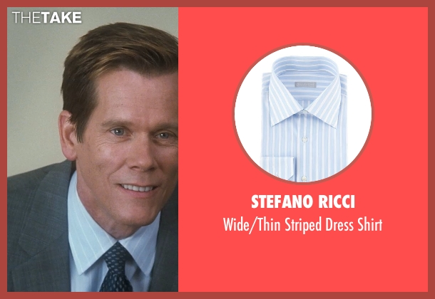 Stefano Ricci shirt from Crazy, Stupid, Love. seen with Kevin Bacon (David Lindhagen)
