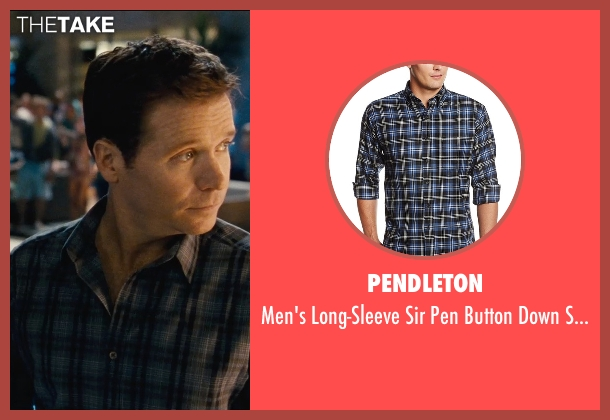 Pendleton black shirt from Entourage seen with Kevin Connolly (Eric Murphy)