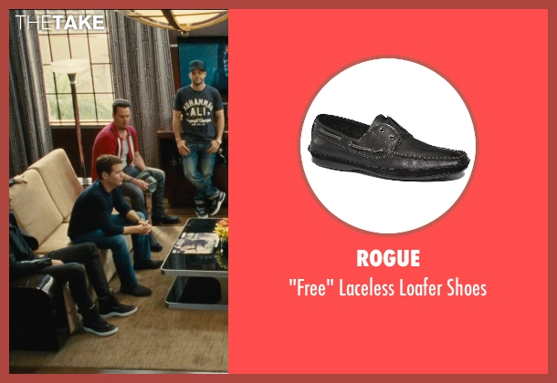 Rogue black shoes from Entourage seen with Kevin Connolly (Eric Murphy)