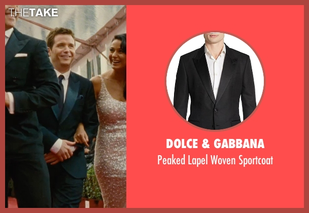 Dolce & Gabbana black sportcoat from Entourage seen with Kevin Connolly (Eric Murphy)
