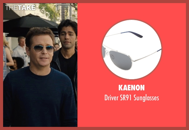 Kaenon black sunglasses from Entourage seen with Kevin Connolly (Eric Murphy)