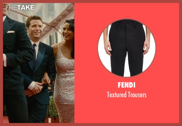 Fendi black trousers from Entourage seen with Kevin Connolly (Eric Murphy)