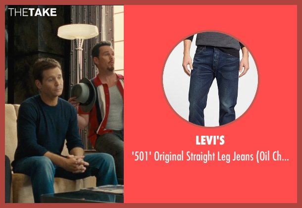 Levi's blue jeans from Entourage seen with Kevin Connolly (Eric Murphy)
