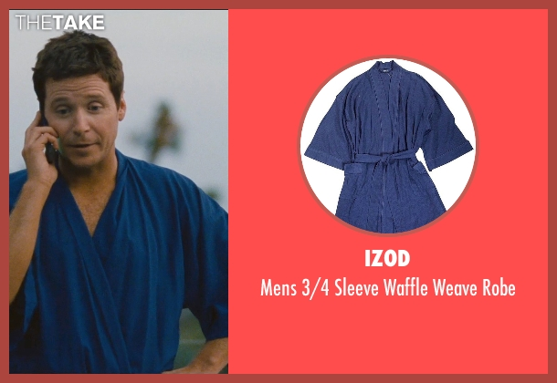 Izod blue robe from Entourage seen with Kevin Connolly (Eric Murphy)