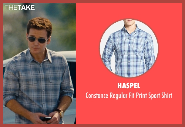 Haspel blue shirt from Entourage seen with Kevin Connolly (Eric Murphy)