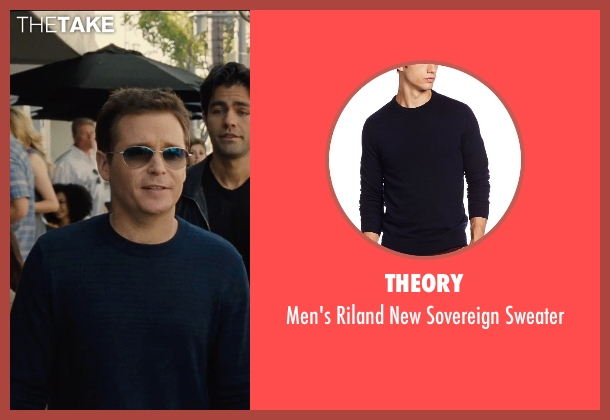 Theory blue sweater from Entourage seen with Kevin Connolly (Eric Murphy)