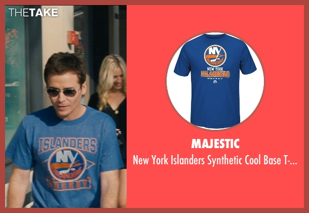 Majestic blue t-shirt from Entourage seen with Kevin Connolly (Eric Murphy)