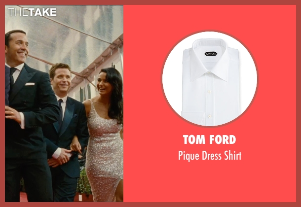 Tom Ford white shirt from Entourage seen with Kevin Connolly (Eric Murphy)