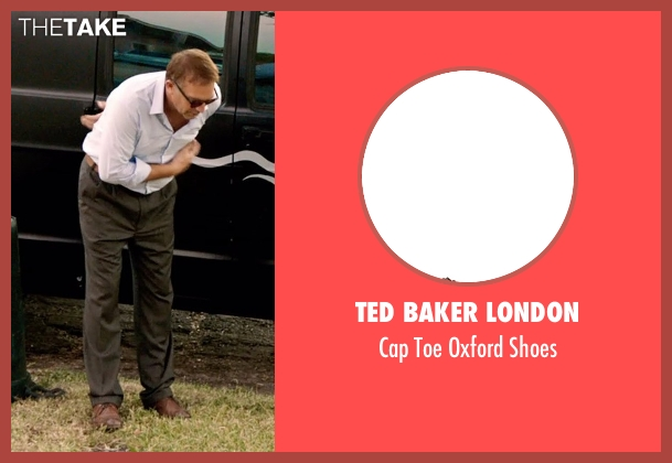 Ted Baker London brown shoes from Black or White seen with Kevin Costner (Elliot Anderson)