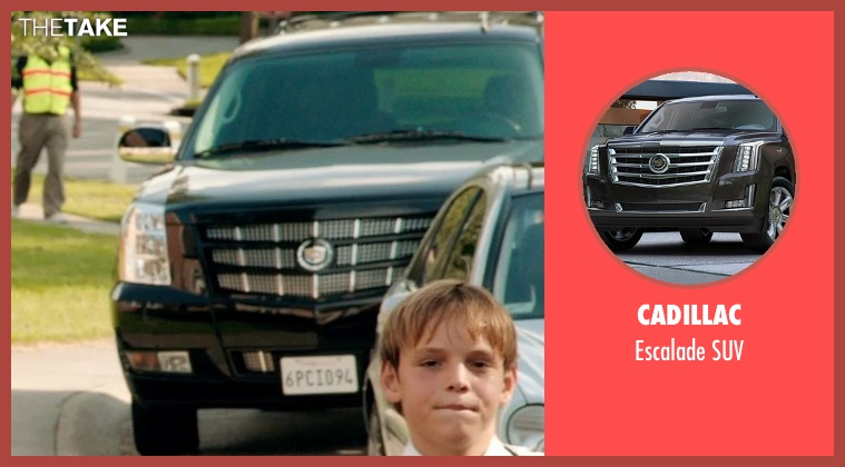 Cadillac suv from Black or White seen with Kevin Costner (Elliot Anderson)