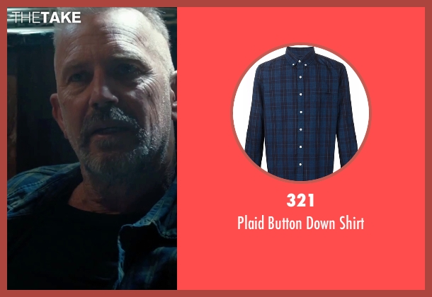321 blue shirt from Criminal seen with Kevin Costner (Jericho Stewart)