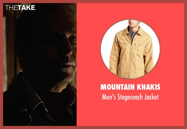 Mountain Khakis jacket from Man of Steel seen with Kevin Costner (Jonathan Kent)