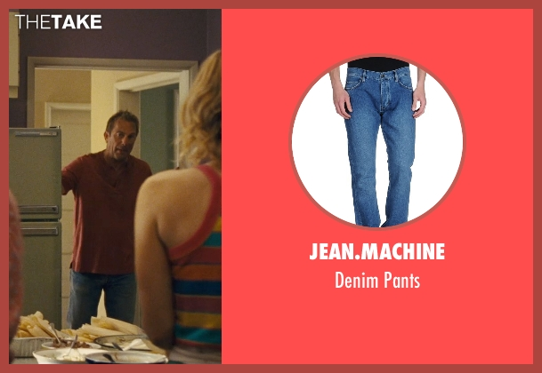 Jean.Machine blue pants from McFarland, USA seen with Kevin Costner (Jim White)