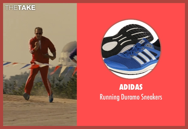 Adidas blue sneakers from McFarland, USA seen with Kevin Costner (Jim White)