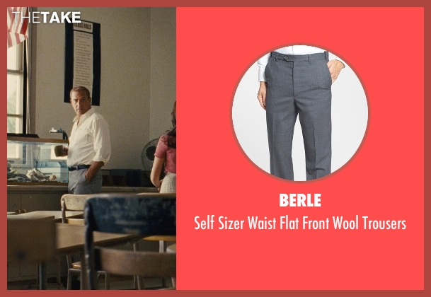Berle gray trousers from McFarland, USA seen with Kevin Costner (Jim White)