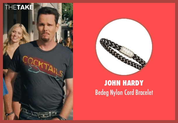 John Hardy black bracelet from Entourage seen with Kevin Dillon (Johnny Chase)