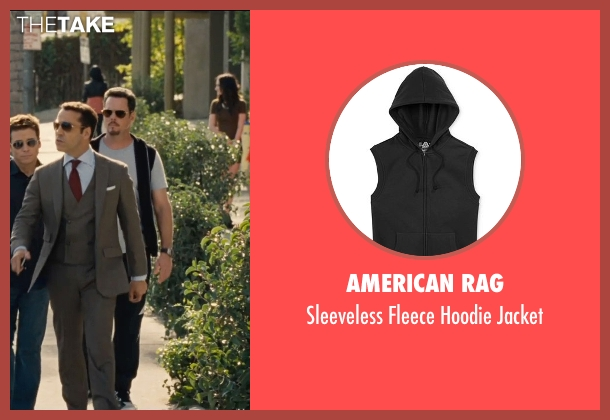 American Rag black jacket from Entourage seen with Kevin Dillon (Johnny Chase)