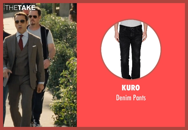 Kuro black pants from Entourage seen with Kevin Dillon (Johnny Chase)