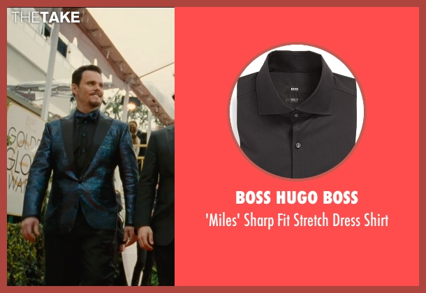 Boss Hugo Boss black shirt from Entourage seen with Kevin Dillon (Johnny Chase)